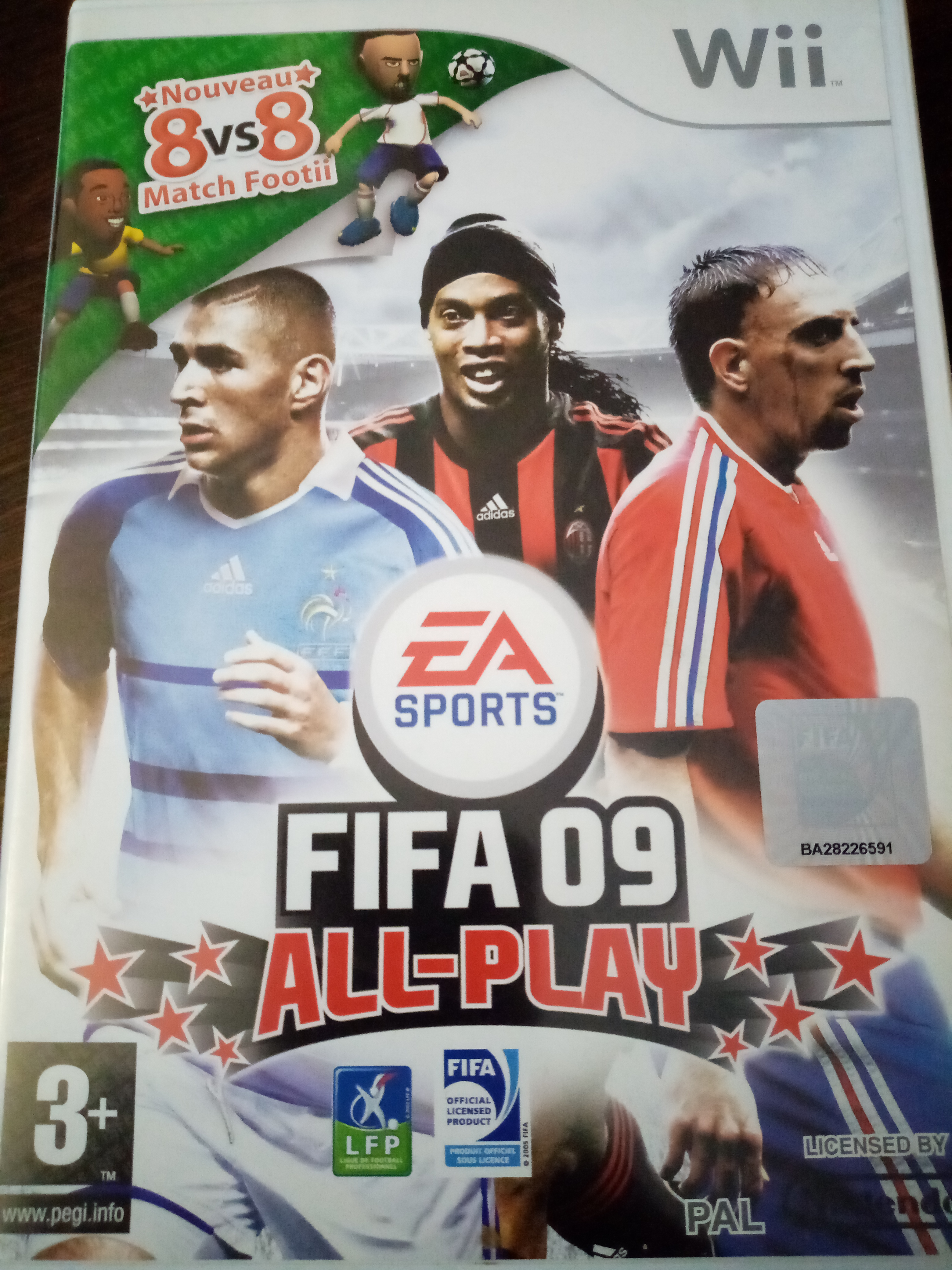 Jeux wii fifa 09