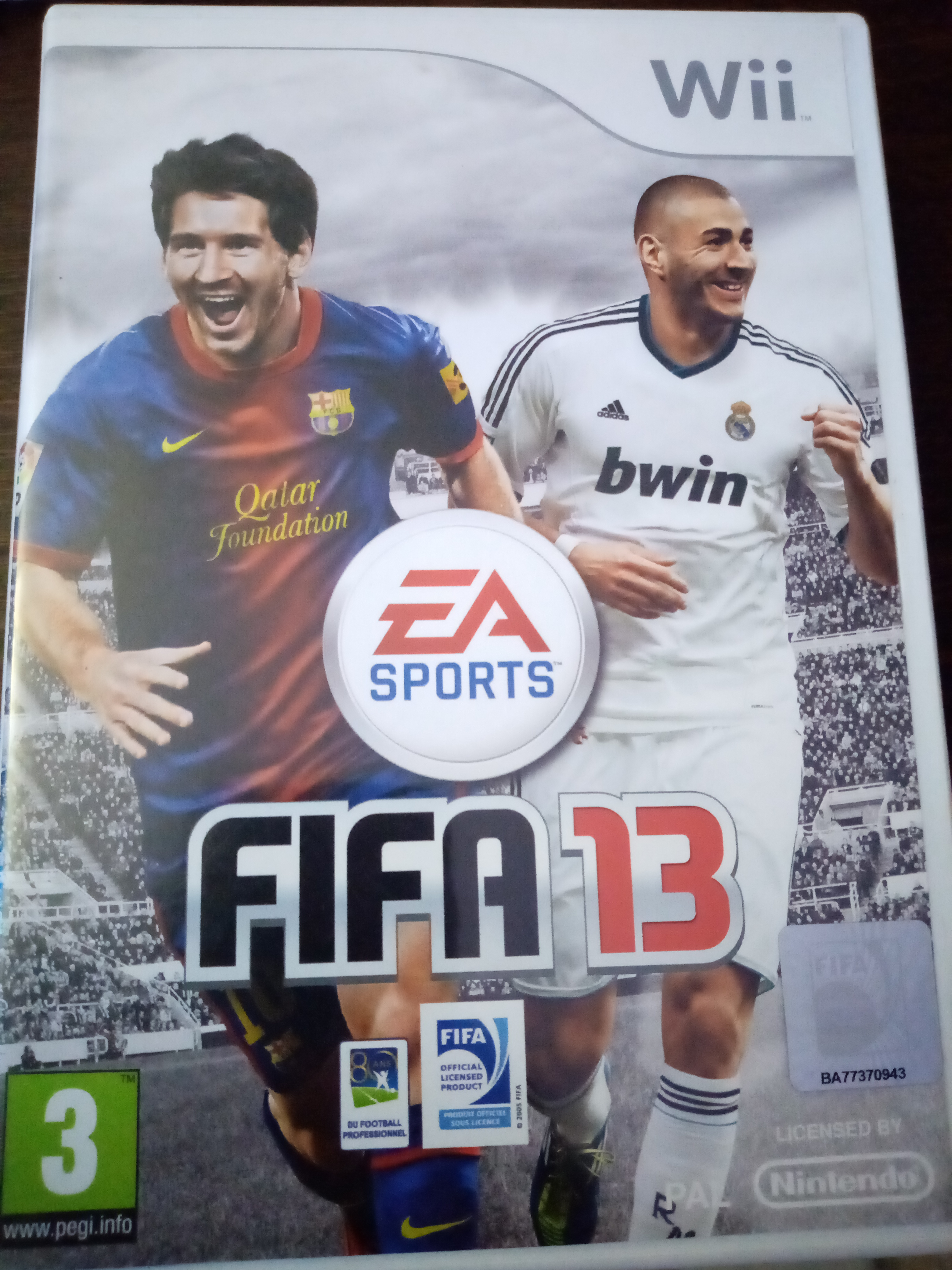 Jeux wii fifa 13