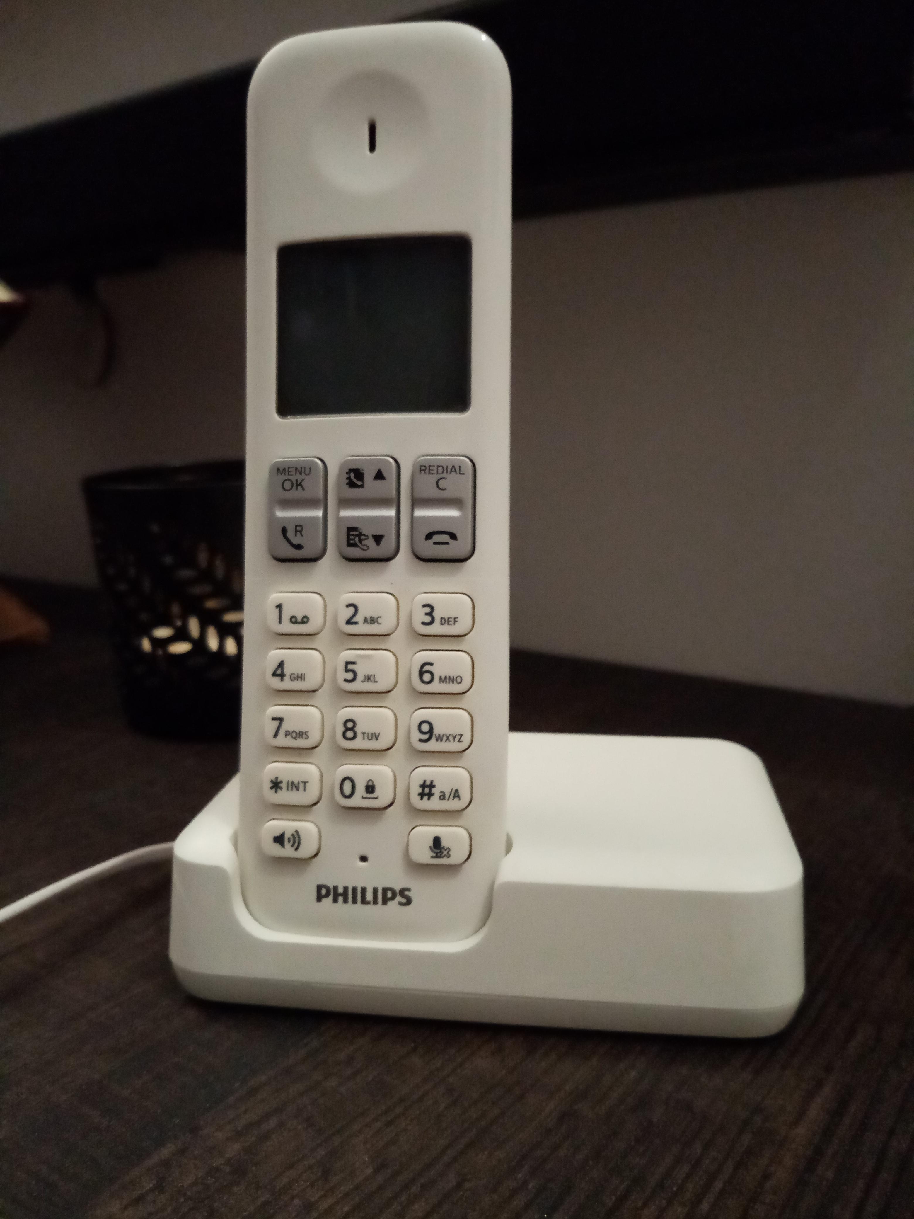 Téléphone fixe PHILIPS
