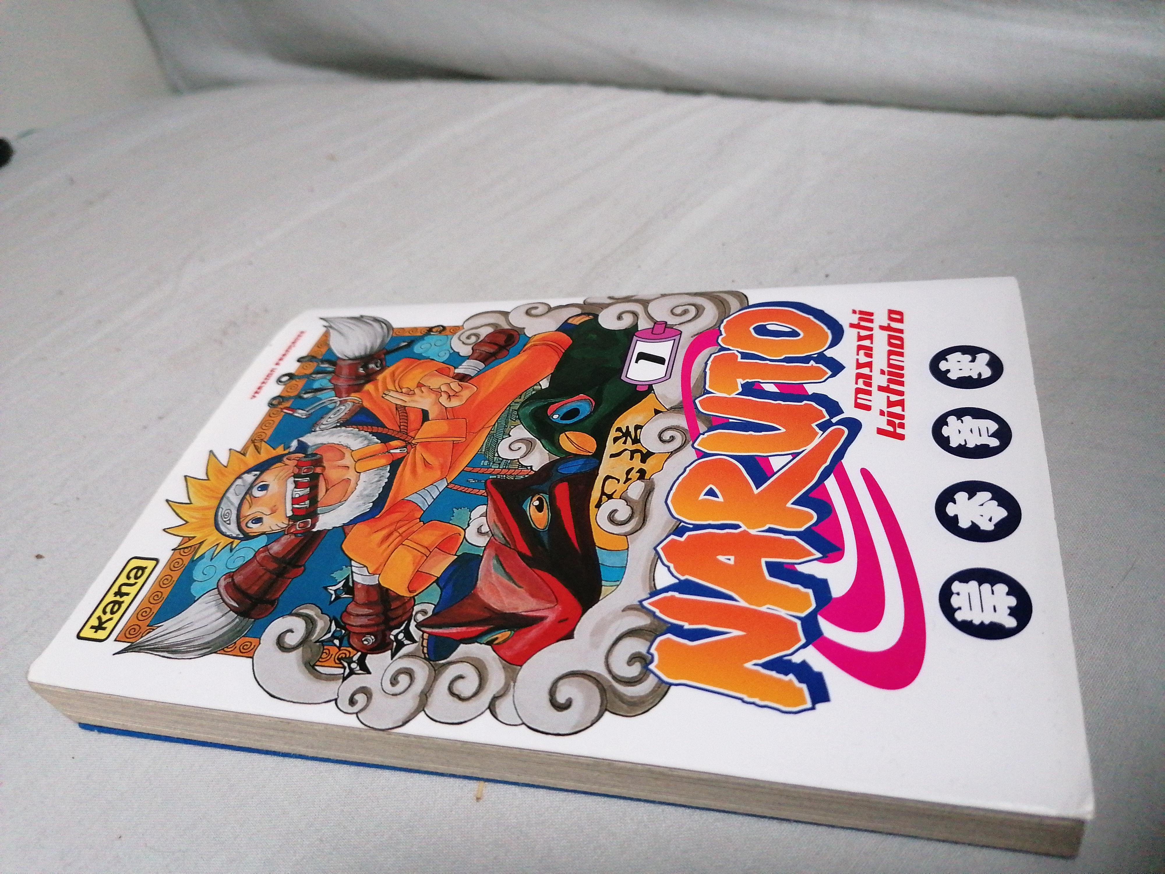 Livre Naruto 1 et 2