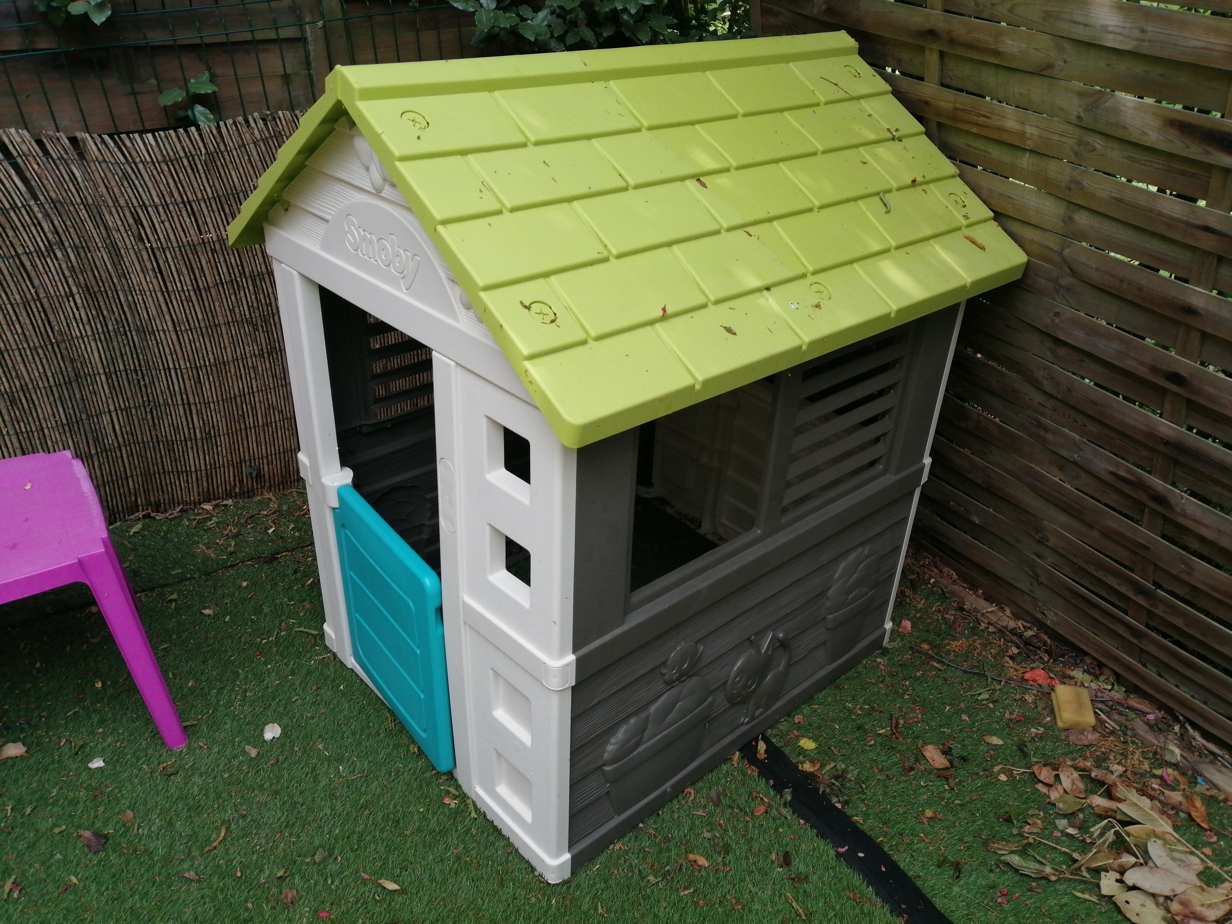 Maison enfants de jardin smoby