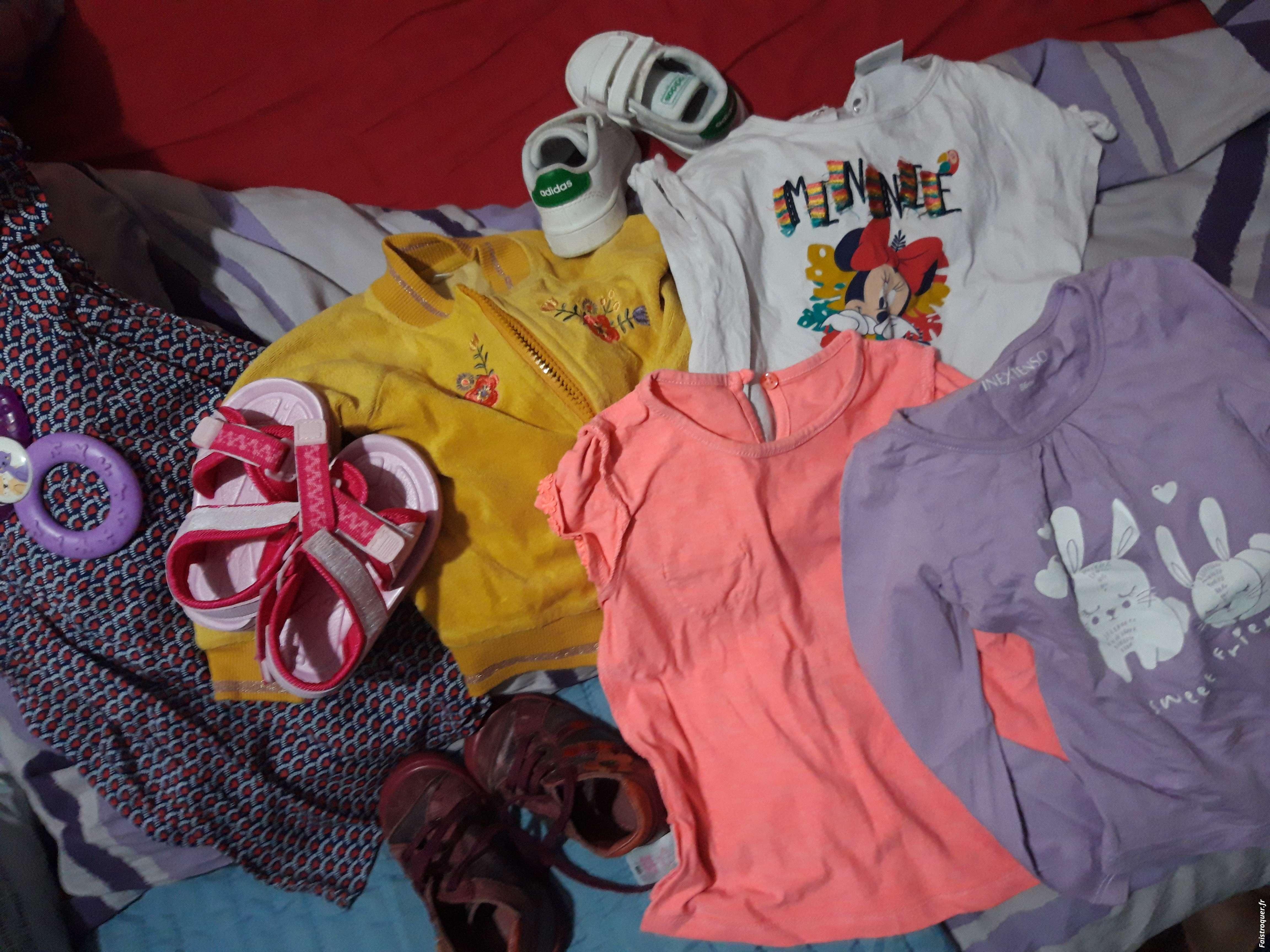 Vêtements fille de 12 à 24 mois