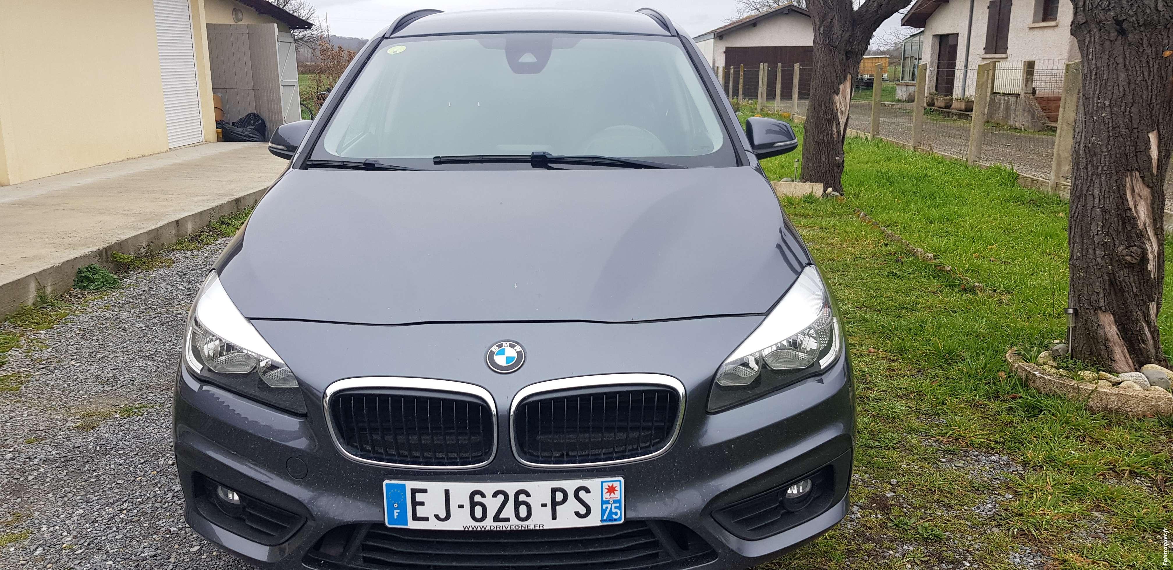 Echange BMW de 2017