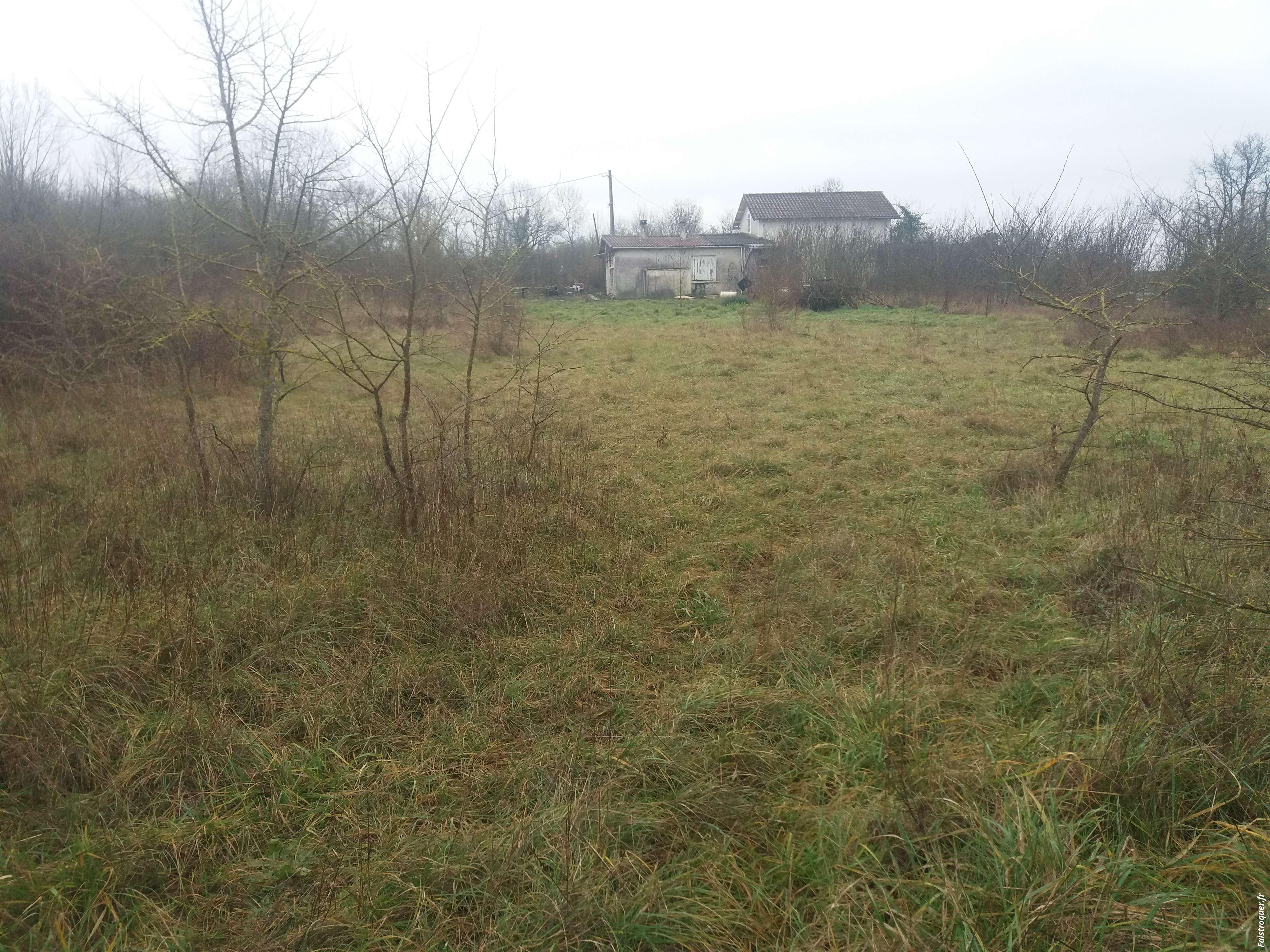 A saisir maison grand terrain sans voisinage