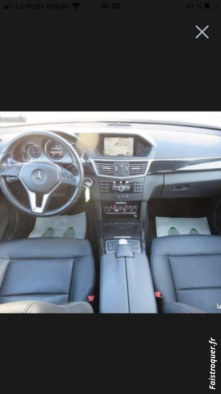 Magnifique Mercedes E350 full options 265 cv