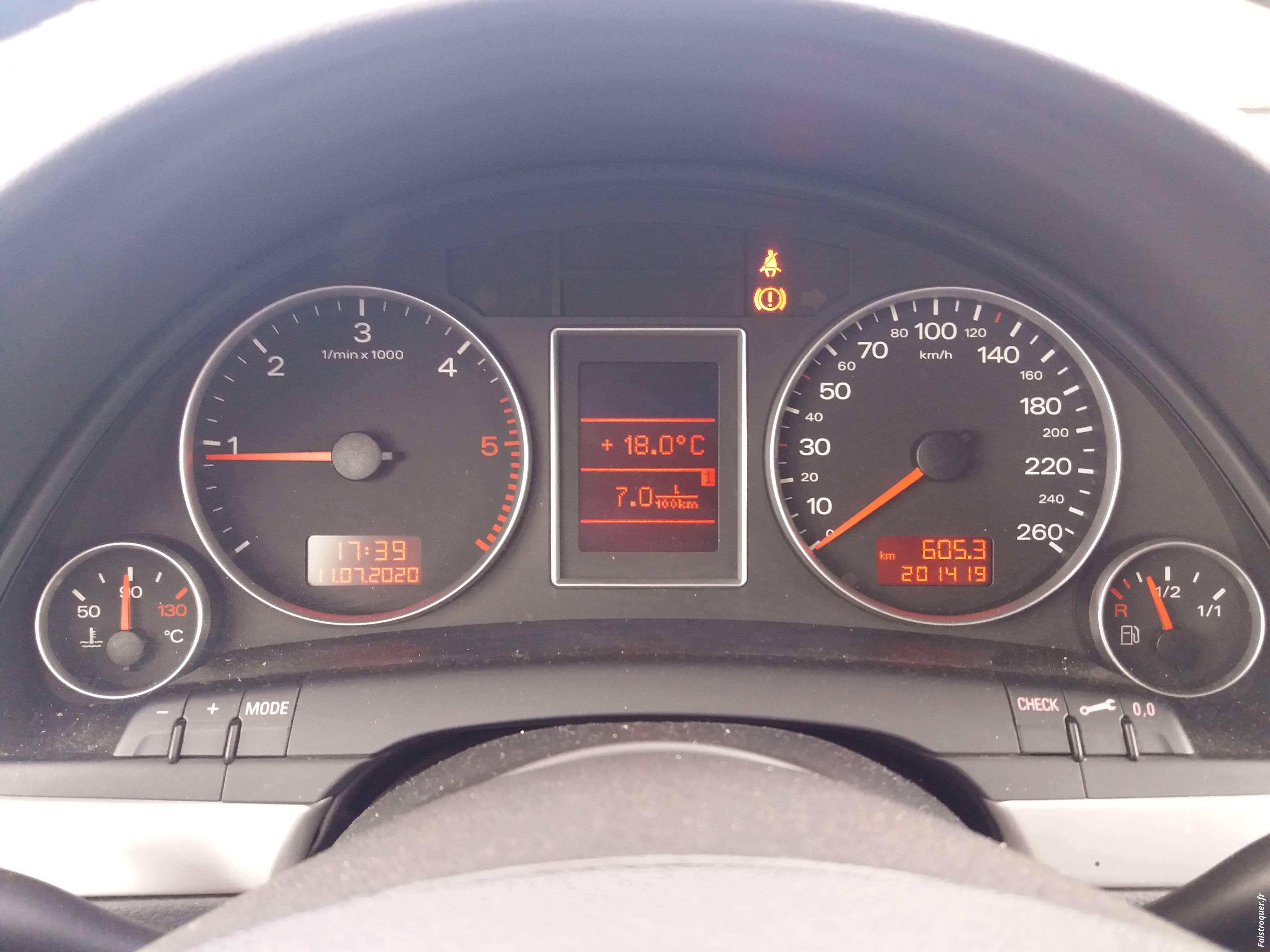 AUDI A4 170 ch