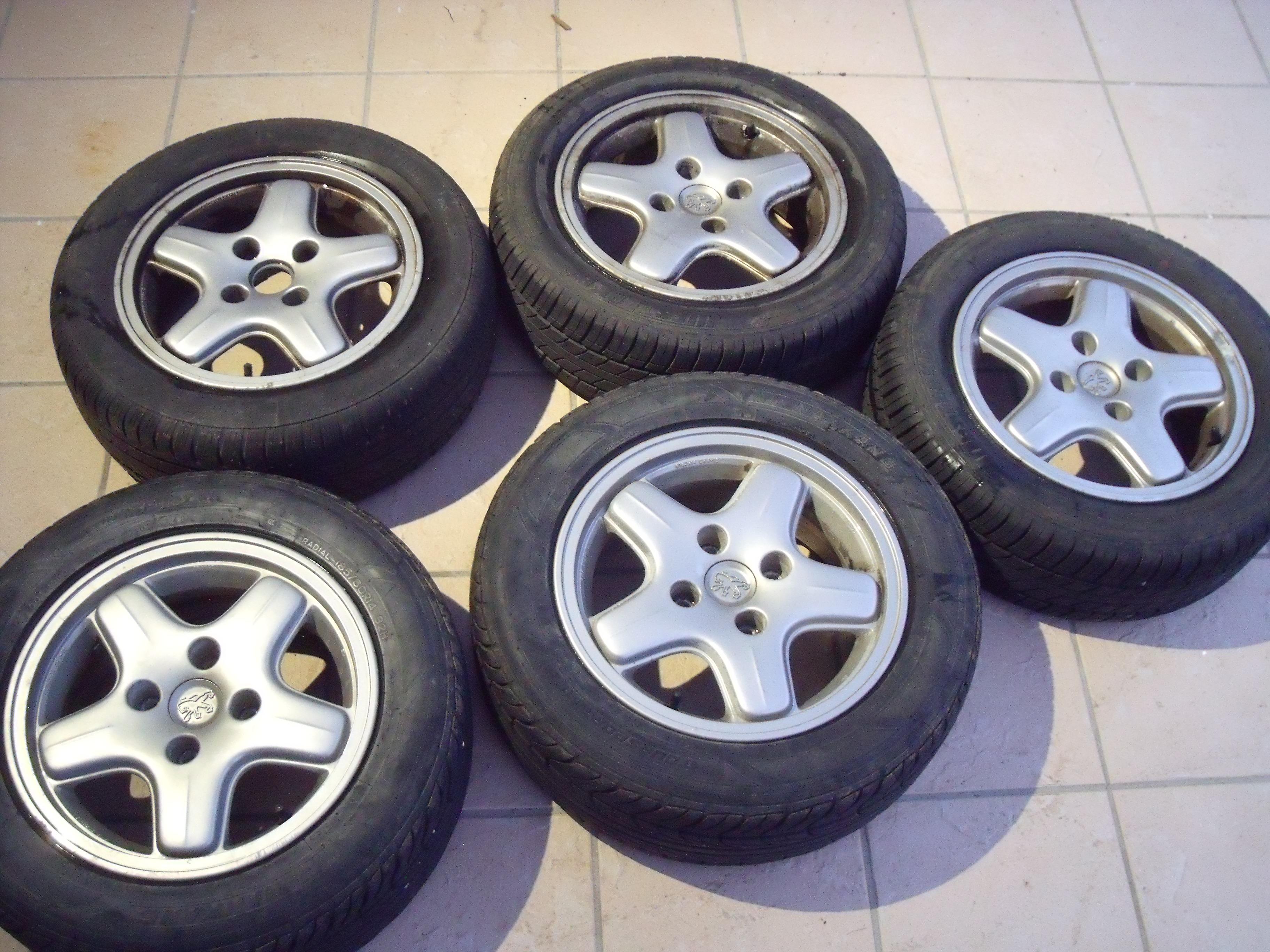 Jantes Peugeot 106
