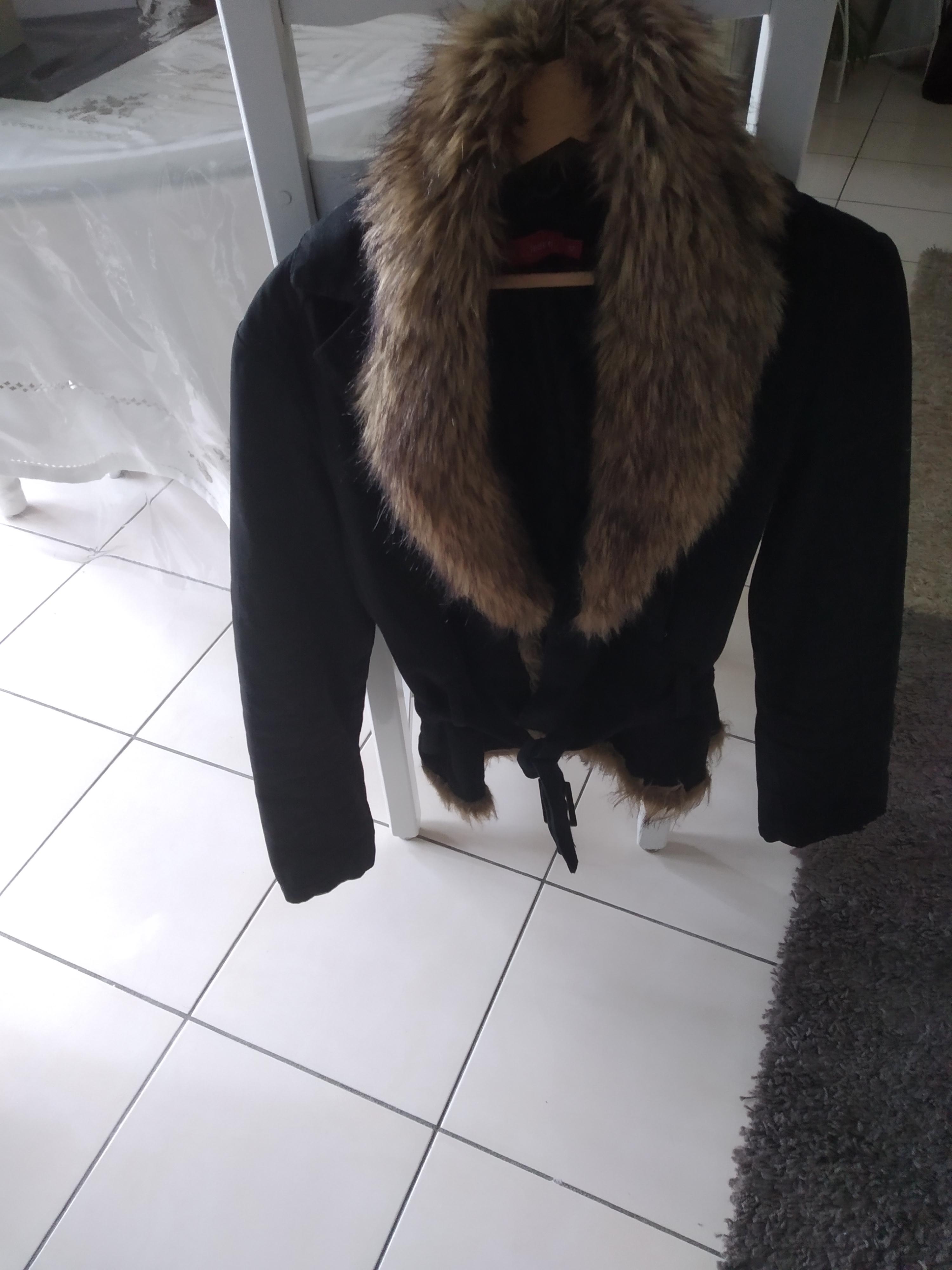 Manteau fourrure neuf