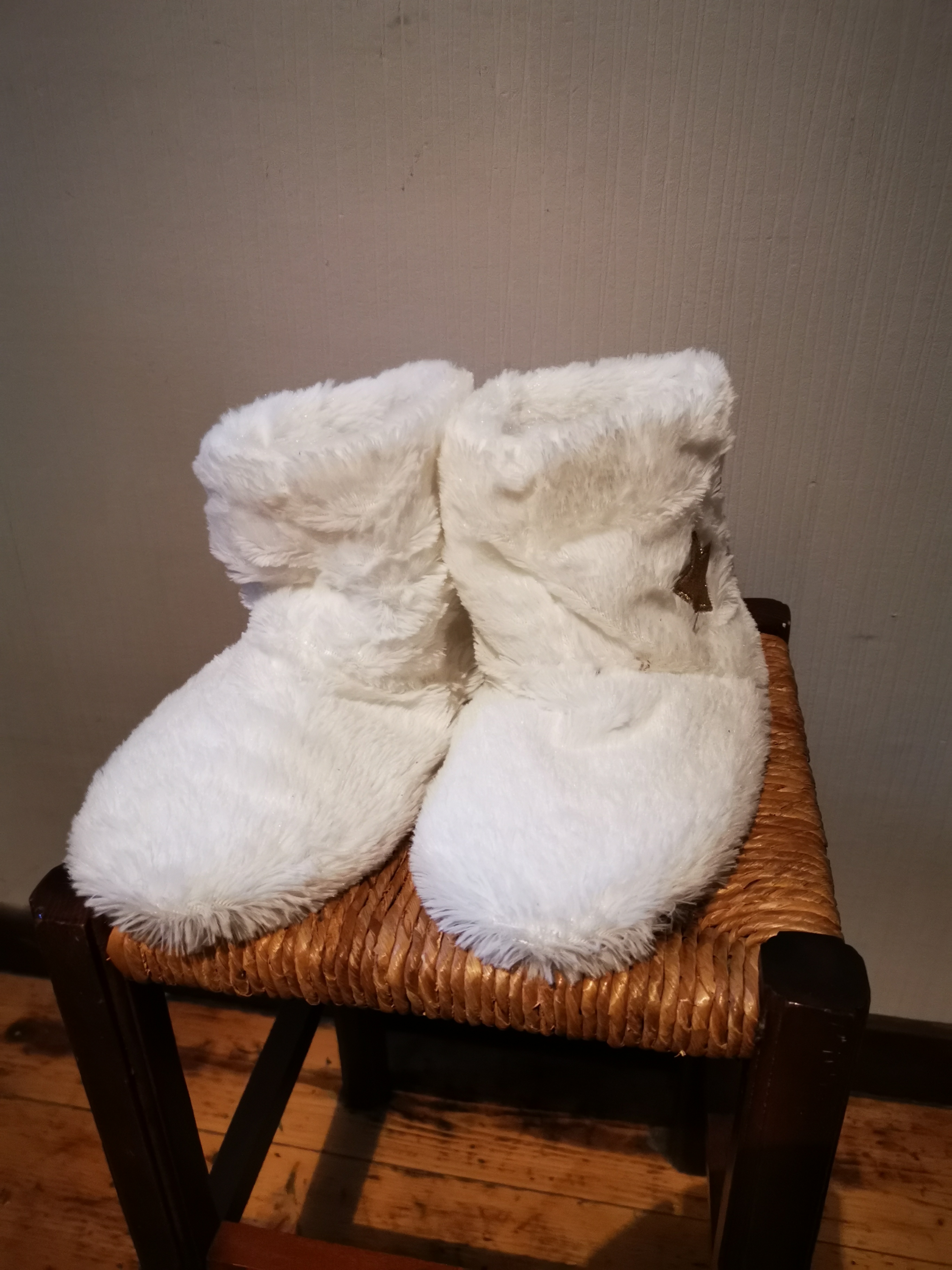 Chausson blanc