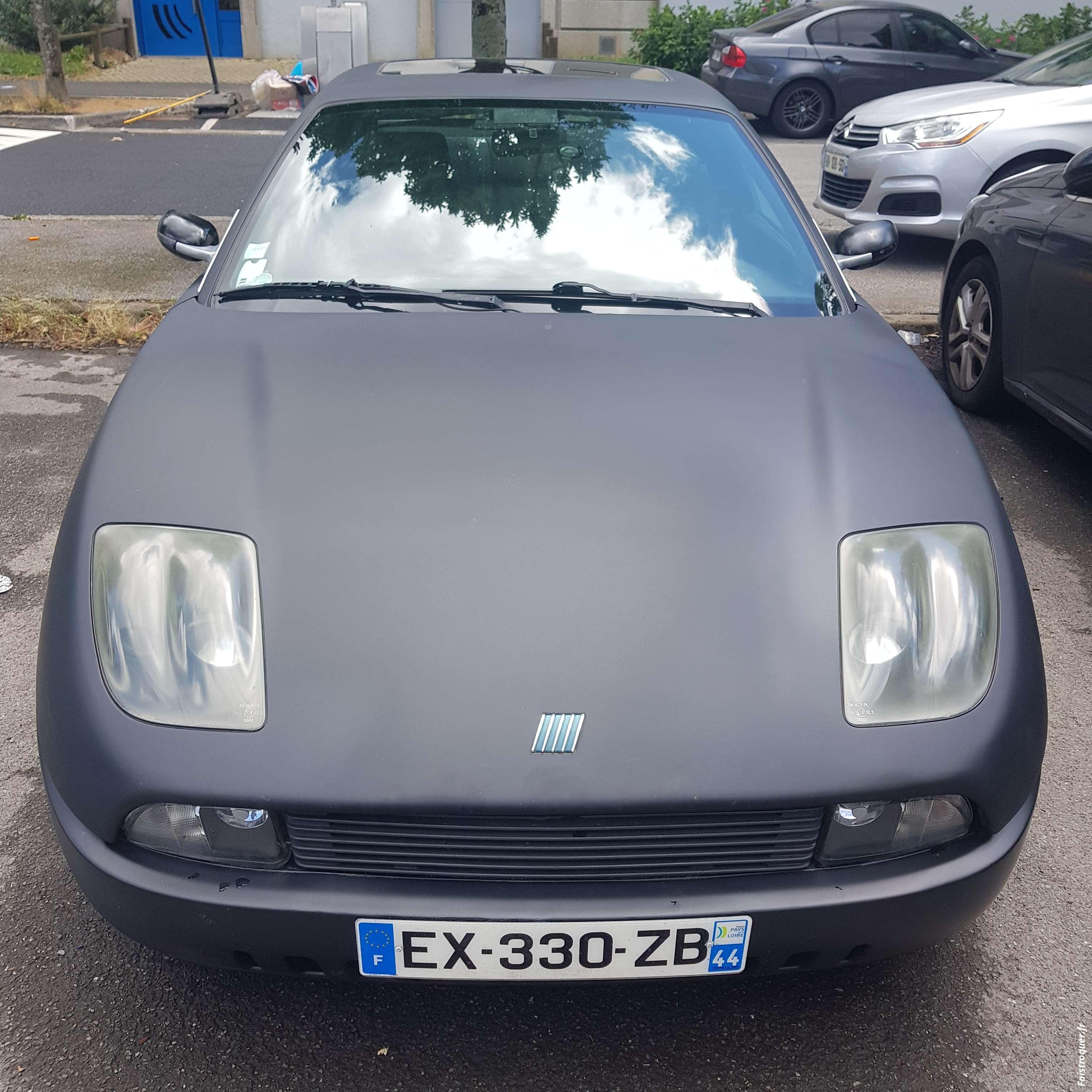 Fiat coupé sport 20 soupapes 5 cylindres  147 cv