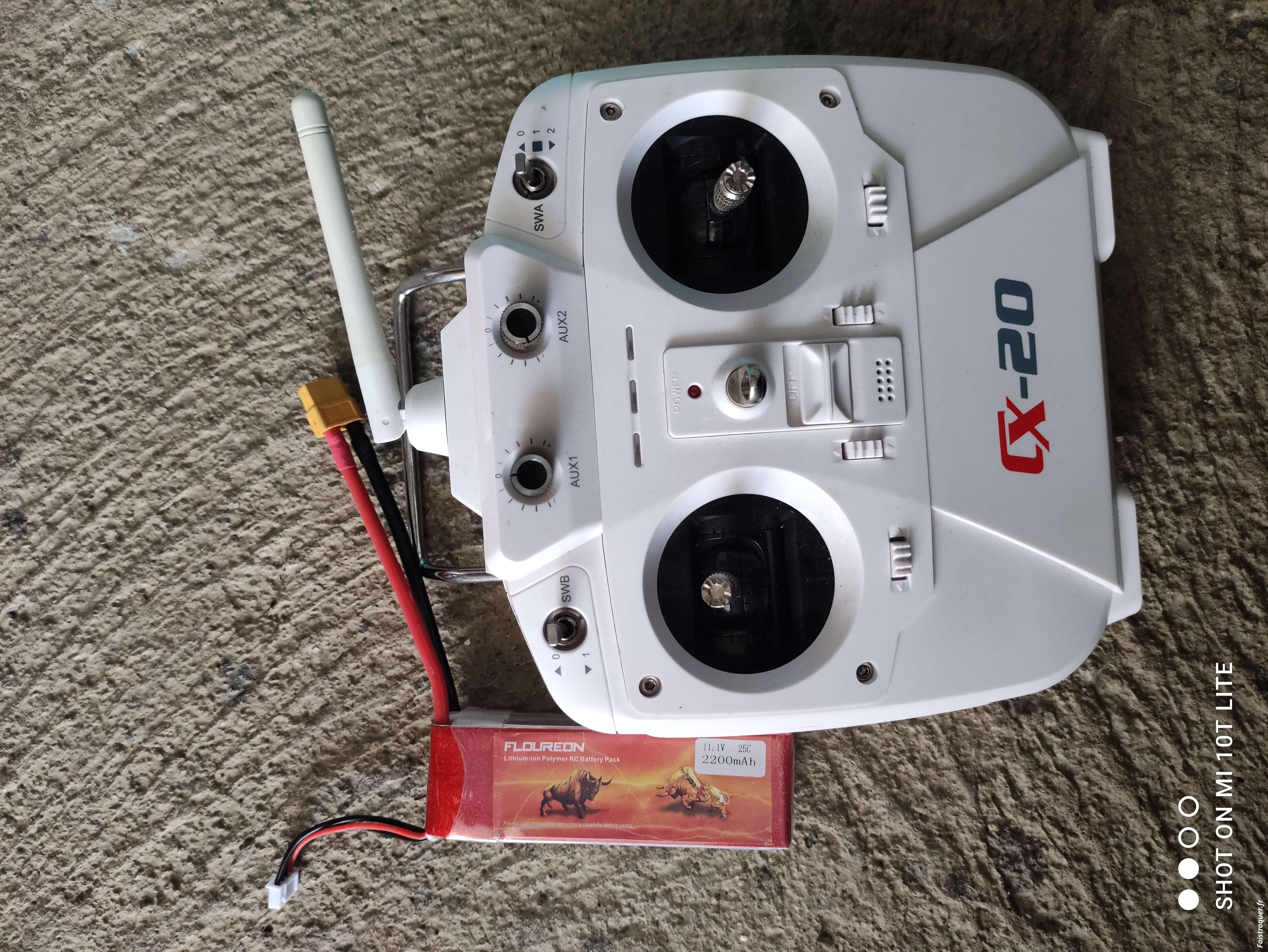 Échange drone contre crawler