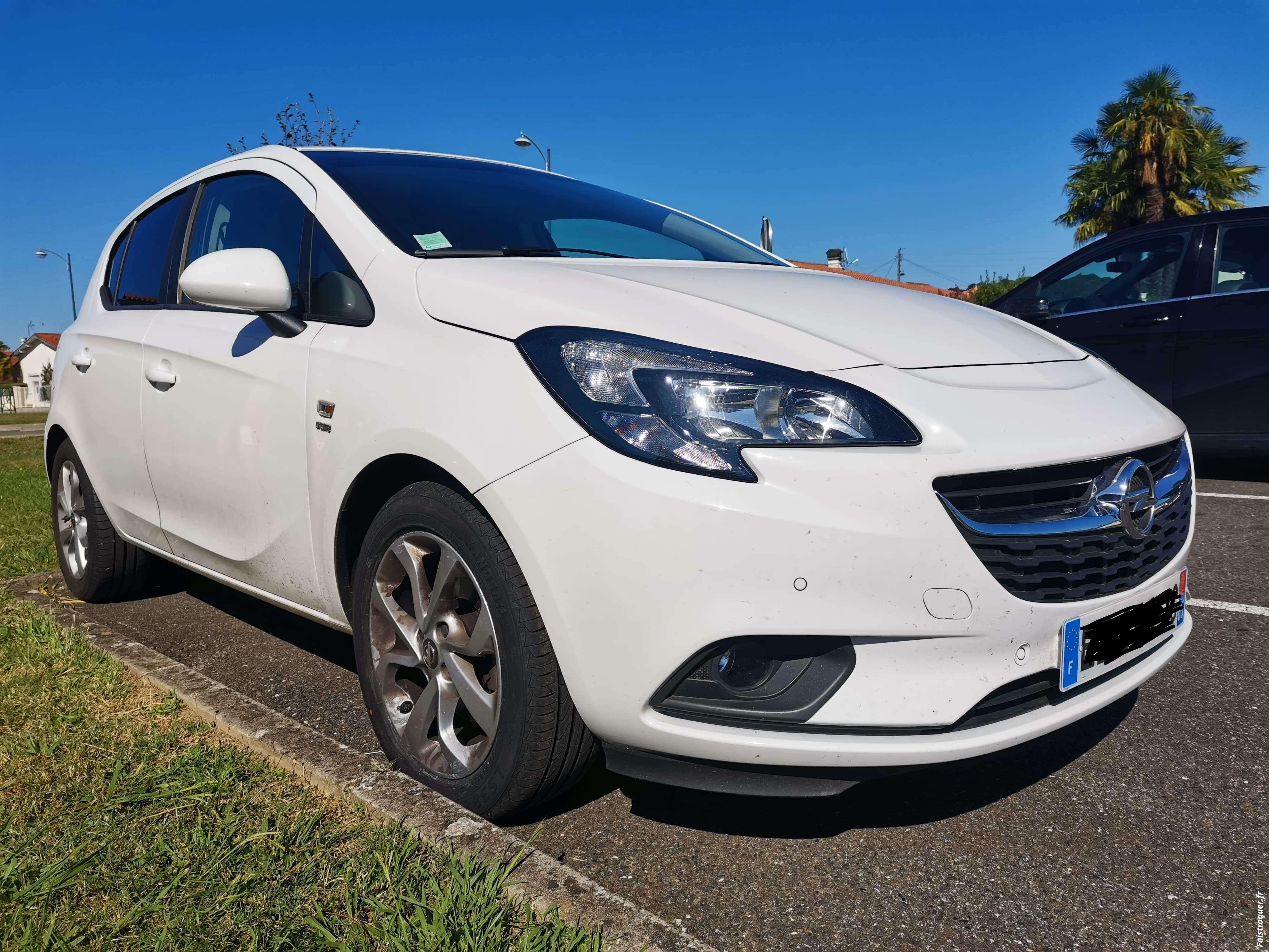Opel corsa 1.4 Turbo 100cv ETHANOL Boîte 6